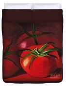 God's Kitchen Series No 3 Tomato Duvet Cover