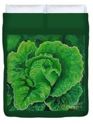 God's Kitchen Series No 5 Lettuce Duvet Cover