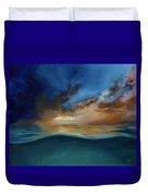God's Wave Of Love Duvet Cover