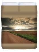 God's Way Of Calling It A Day Duvet Cover