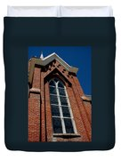 Gods Window St. Mary's In The Mountains Catholic Church Duvet Cover