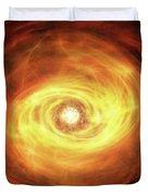Godseye Galaxy Duvet Cover