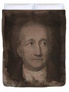 Goethe Duvet Cover