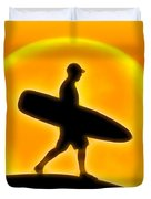 Goin' For A Surf Duvet Cover