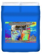 Going Cruising Duvet Cover