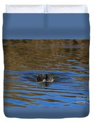 Going Down - A Duck Tale Duvet Cover