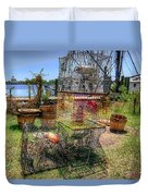 Going Fishing? Duvet Cover