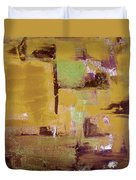 Gold Abstract Duvet Cover