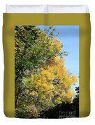 Gold And Green Duvet Cover
