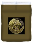 Gold And Silver Duvet Cover