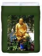 Gold Buddha 4 Duvet Cover