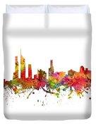 Gold Coast Australia Cityscape 08 Duvet Cover