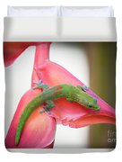 Gold Dust Day Gecko 2 Duvet Cover