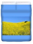 Gold Hills Duvet Cover