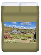 Gold In Them Hills Duvet Cover