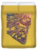 Gold Leaf 1 Duvet Cover