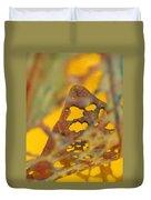 Gold Leaf 3 Duvet Cover