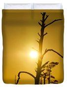 Gold Marsh Duvet Cover