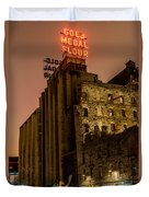 Gold Medal Flour Sign Duvet Cover