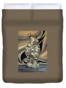 Gold Rhyton From Bulgaria Duvet Cover