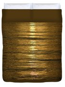 Gold Sea Duvet Cover