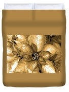 Gold Shimmer Duvet Cover