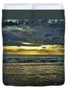 Gold Skies Duvet Cover