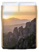 Gold Sunset Duvet Cover