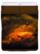 Golden Anvil Duvet Cover