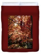 Golden Autumn Sunshine Duvet Cover