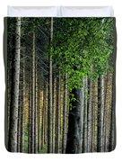 Golden Backlight Duvet Cover
