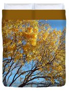 Golden Boughs Duvet Cover