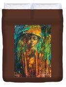 Golden Boy Duvet Cover
