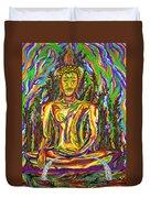 Golden Buddha Duvet Cover