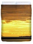 Golden Duvet Cover