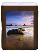Golden Coast Duvet Cover
