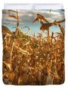 Golden Crop Duvet Cover