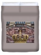 Golden Crown Duvet Cover