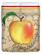 Golden Delicious Two Duvet Cover