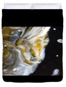 Golden Delta Duvet Cover