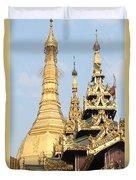 Golden Dome Duvet Cover