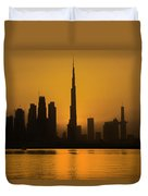 Golden Dubai Duvet Cover