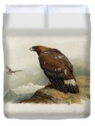 Golden Eagle By Thorburn Duvet Cover
