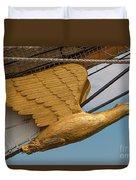 Golden Eagle Masthead Duvet Cover