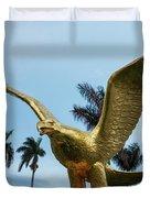 Golden Eagle Take Off Duvet Cover