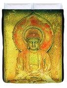 Golden Enlightenment Duvet Cover