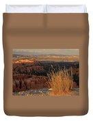 Golden Evening Light Bryce Canyon 1 Duvet Cover