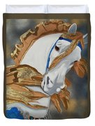 Golden Fantasy Duvet Cover