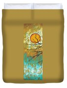 Golden Fascination 1 Duvet Cover