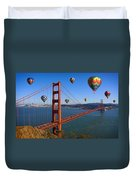 The City Of Dreams Duvet Cover